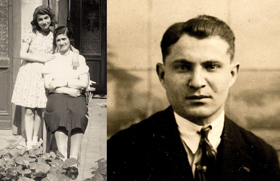 Gedeporteerd vanuit de Dossinkazerne op 1 september 1942 met transport 7